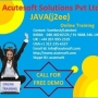 JAVA Course | JAVA Online Training at Acutesoft