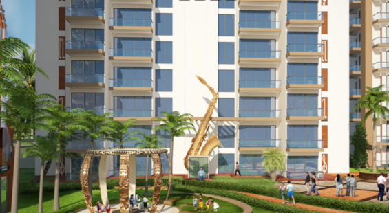 Rhythm county residential projects- 2 and 3 bhk flats in noida extension