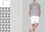Trendy Stripe T-Shirts- Buy Men's T-Shirts Online India | Zobello.com
