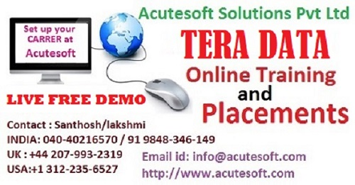 Tera data | tera data online training