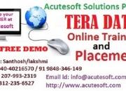Tera data | tera data online training