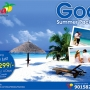 Goa summer tour package at rs 6299 for 03N/04D from delhi