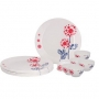 Buy Borosil Fidenza Bloom Dinner Set Online