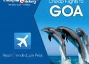 CheapAirETickets.In offer amazing discounts on Goa flight tickets