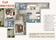 Get 2 BHK Apartment @25 Lacs Call 9999415318 Dwarka Expressway Gurgaon