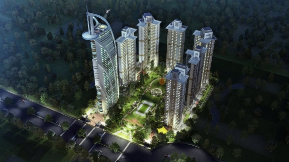 Luxury 2 bhk flat in jewel of noida