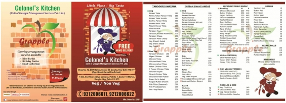 Order meal online with free home delivery in delhi