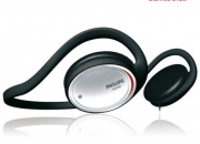 Philips SHS 390 Wired Neckband Headphone (Black)