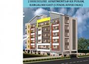 2bhk flat near kr puram