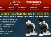 Buy School Microscopes for Student at Adelta Optec
