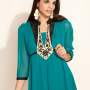 Flat 60% Off On Women's Kurtis From Mother Earth & La Emotio.