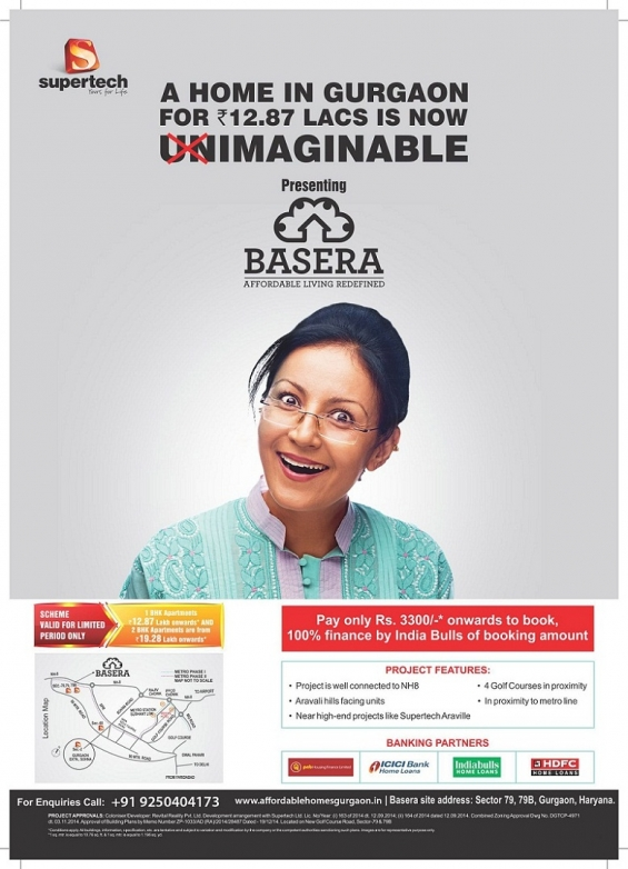 Supertech basera affordable housing in sector 79 gurgaon