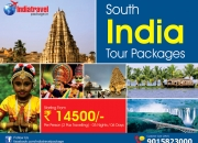 Book South india tour package at Rs 14500 for 03N/04D from delhi