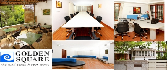 Dedicated & virtual office space in koramangala @ golden square