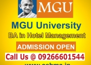 MGU University BA in Hotel Management