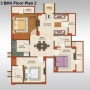 3 BHK Flat for Sale in AVJ Homes Greater Noida