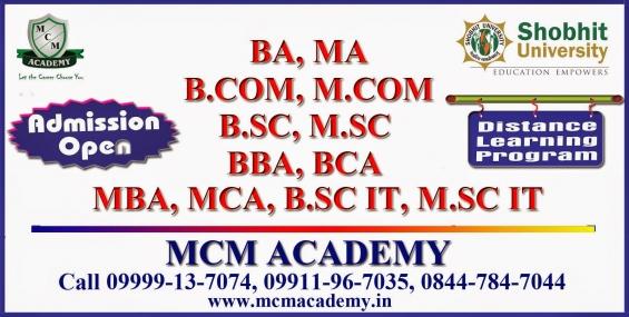 Graduation, fast track graduation, degree in one sitting, post graduation | join mcm acade