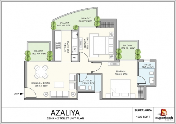 Supertech azaliya 2 bhk apartments in sector 68 gurgaon