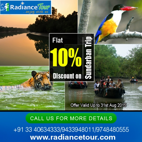 10% discount on sundarban tour package