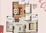 Bulland calisto top 2 bhk flat in noida extension