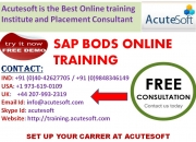 Sap bods | sap bods online training at acutesoft