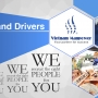 Skilled and un-skilled drivers are available for hire