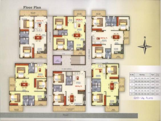 3bhk flat in ramamurthy nagar blore