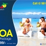 Book Goa Summer Travel Package at Rs 11599 for 03N/04D