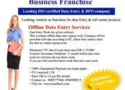 Offline Data Entry Outsourcing Companies
