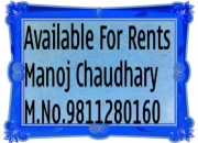3 bhk flats for rent belvedere park cont, 9811280160