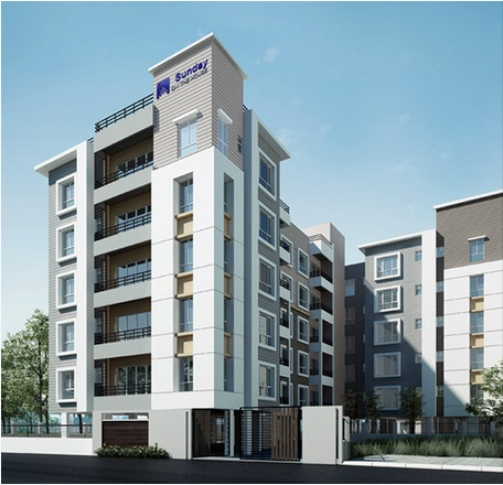 Luxurious 3 bhk flats in rajarhat kolkata from sunday on the house