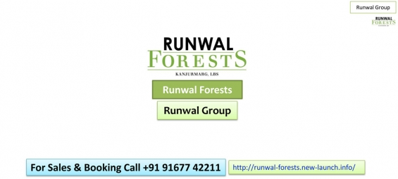 Pre-launch runwal forests project by runwal group call 91677 42211