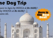 gurgaon to agra taxi