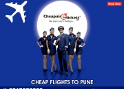 Book flight tickets to pune at discounted prices