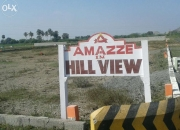 Hill view plot project