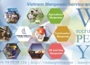 Providing all kinds of workers from Vietnam