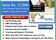 SIMPLE ONLINE COPY PASTE JOBS, EMAIL SENDING JOBS, SMS SENDING JOBS FOR ALL. VISIT - WWW.F