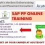 SAP PP Online Training | SAP PP Course