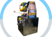 Ss sugarcane crusher mounted on table