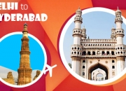 Book online Cheap flights tickets from hyderabad to delhi