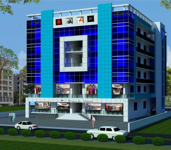 Krish square shopping space commercial property in bhiwadi