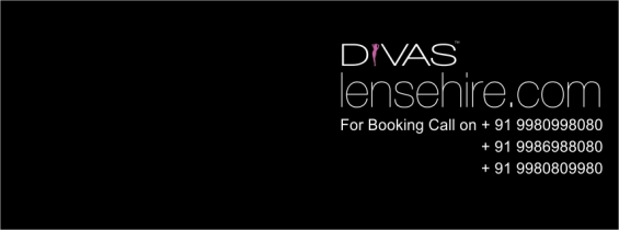 Get canon dslr & lenses for hire @ reasonable cost from divas photography