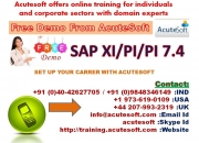 SAP XI/PI | SAP XI/PI Online Training at Acutesoft
