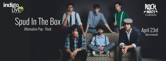 Spud in the box concert