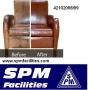 SUPERB SOFA CLEANING SERVICES CHENNAI POONAMALLEE WWW.SPMFACILITIES.COM 42102098/99