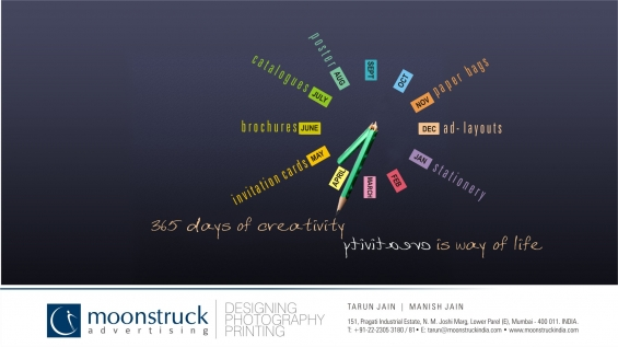 Brochures design company | moonstruck advertising