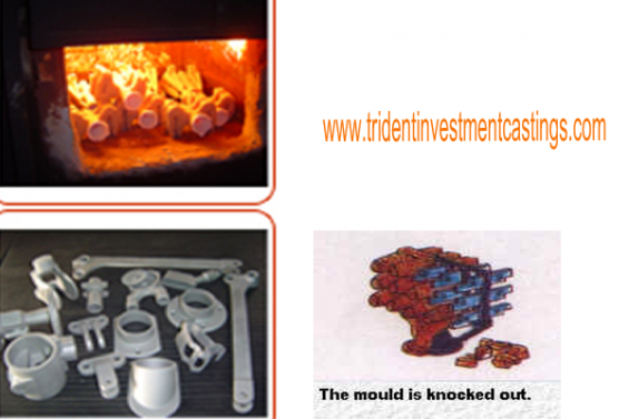 Investment castings manufactured,lost wax process