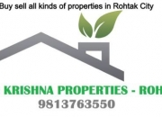 160 sq yard single story house for sale in Sector 3 Rohtak