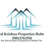 190 Sq yard plot for sale in Ram Gopal Colony Rohtak