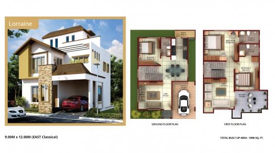 Buy villas, kanakapura road- luxury (11234)- concorde group